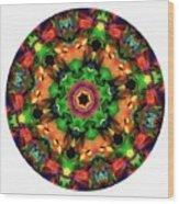 Mandala - Talisman 1106 - Order Your Talisman. Wood Print