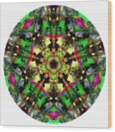 Mandala - Talisman 1107 - Order Your Talisman. Wood Print