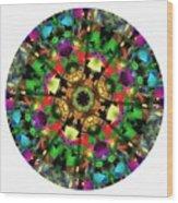 Mandala - Talisman 1108 - Order Your Talisman. Wood Print