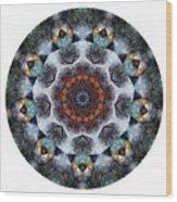 Mandala - Talisman 1111 - Order Your Talisman. Wood Print