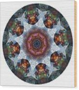 Mandala - Talisman 1112 - Order Your Talisman. Wood Print