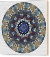 Mandala - Talisman 1120 - Order Your Talisman. Wood Print