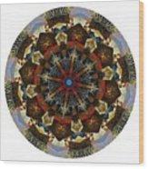 Mandala - Talisman 1123 - Order Your Talisman. Wood Print