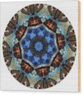 Mandala - Talisman 1124 - Order Your Talisman. Wood Print