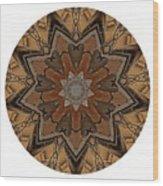 Mandala - Talisman 1333 Wood Print