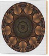 Mandala - Talisman 1392 Wood Print