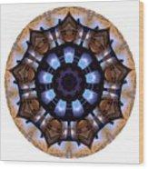 Mandala - Talisman 1396 Wood Print