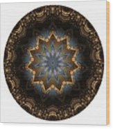 Mandala - Talisman 1415 Wood Print