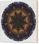 Mandala - Talisman 1430 Wood Print