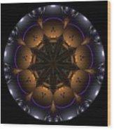 Mandala - Talisman 1431 Wood Print