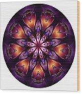 Mandala - Talisman 1432 Wood Print