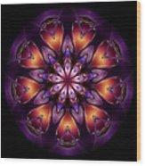 Mandala - Talisman 1433 Wood Print