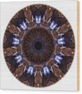 Mandala - Talisman 1436 Wood Print