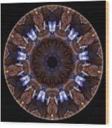 Mandala - Talisman 1437 Wood Print