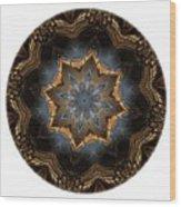 Mandala - Talisman 1444 Wood Print