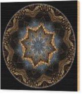 Mandala - Talisman 1445 Wood Print