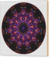 Mandala - Talisman 1448 Wood Print