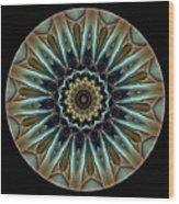 Mandala - Talisman 1458 Wood Print