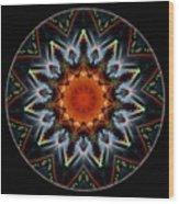 Mandala - Talisman 1538 Wood Print