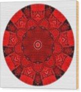 Mandala - Talisman 1541 Wood Print