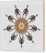 Mandala - Talisman 1630 Wood Print