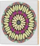 Mandala - Talisman 1685 Wood Print