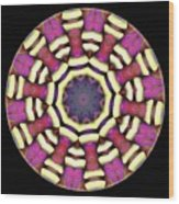 Mandala - Talisman 1688 Wood Print