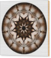 Mandala - Talisman 3701 Wood Print