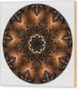 Mandala - Talisman 3703 Wood Print