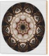 Mandala - Talisman 3707 Wood Print
