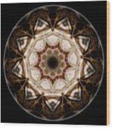 Mandala - Talisman 3708 Wood Print