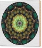 Mandala - Talisman 853 For Those Born In 1957 Wood Print