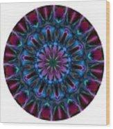 Mandala - Talisman 854 For Those Born In 1958 Wood Print