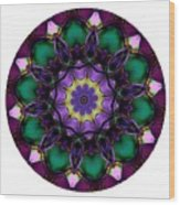 Mandala - Talisman 855 For Those Born In 1959 Wood Print