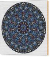 Mandala - Talisman 962 For Those Born In ..... Wood Print