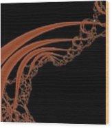 Mandel 3 Wood Print