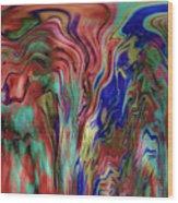 Mandolin Rain 2 Wood Print