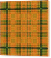 Mandoxocco-wallpaper-orange-green Wood Print