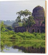 Mandu Wood Print