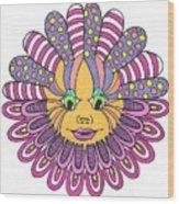 Mandy Flower Wood Print