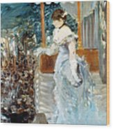 Manet: Cafe-concert, 1879 Wood Print