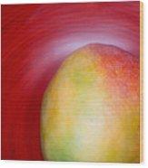 Mango Close-up Wood Print