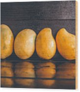 Ripe Mangoes Wood Print