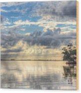Mangrove Mirrored Dreams Wood Print