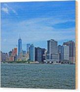 Manhattan 027 Wood Print