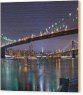 Manhattan 031 Wood Print