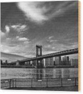 Manhattan Bound Wood Print