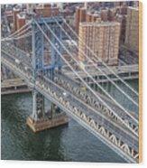Manhattan Bridge  6413  Wood Print