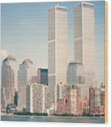 Manhattan Circa 1990 Wood Print