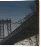 Manhattan Dreamin' Wood Print